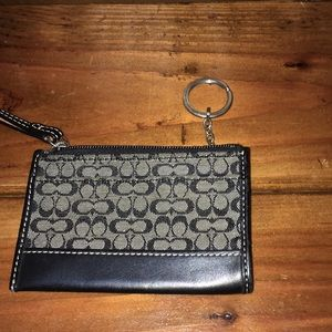 Coach Accessories - NWOT Coach Change bag/ Card holder/ Key chain